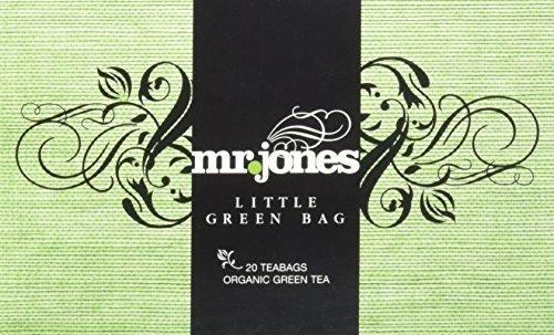 Mr. Jones Little Green Bag - Bio Grüner Tee, 2er Pack (2 x 35 g)