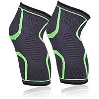 EVILTO Knee Sleeves 1 Paar, Athletic Kompression Kniebandage für Crossfit, Fitness, Krafttraining, Gewichtheben... preisvergleich bei billige-tabletten.eu