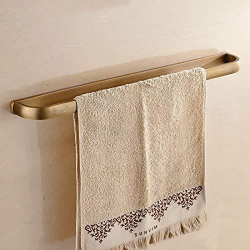 Luxury Gold Unique Towel Bar Gold Towel Holder Toalla de latón macizo hecho de oro estilo europeo baño Towel Bar accesorios de baño antiguos