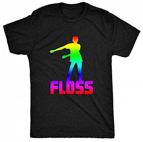 8TN Floss Dance Herren T Shirt - Schwarz - Medium (Dance Team-t-shirts)