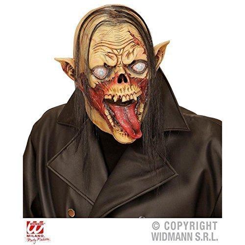 Vollmaske Vampir Zombie mit Haar / Zombiemaske / Halloween / Kostümzubehör / (Zombie Vollmaske)