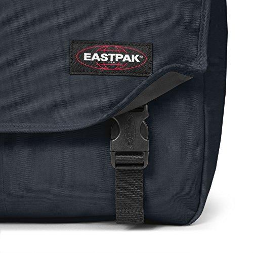 Eastpak Delegate Borsa a Tracolla, 20 Litri, Nero (Black) Blu (Midnight)
