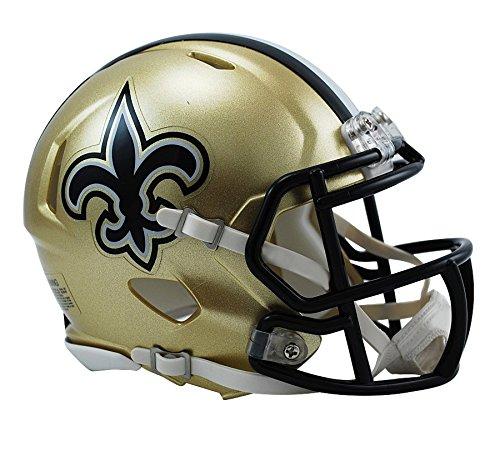 Riddell NFL NEW ORLEANS SAINTS Replica NFL Mini Helmet