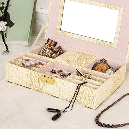 Zoom IMG-1 qxtt portagioie scatola donna custodia