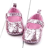 Baby Girl Shoes For 0-18 Months Kids, ❤️ Xinantime Toddler Girl Soft Sole Crib Shoes Sequins Sneaker Baby Shoes (12~18 Month,  Pink)