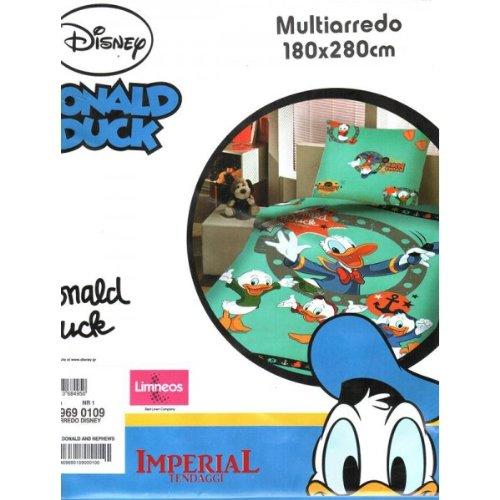Foulard multiarredo singolo donald duck ed 6969 0109