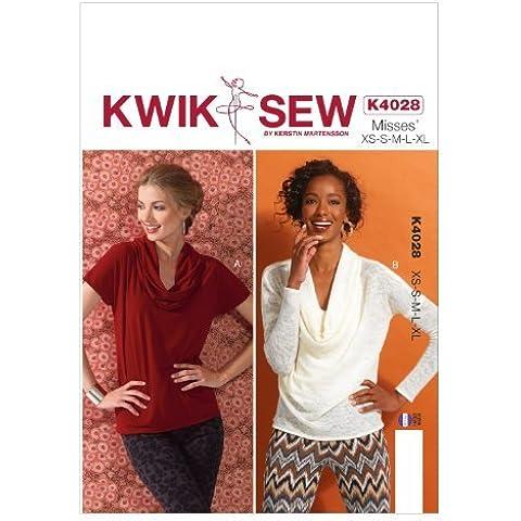KWIK-SEW PATTERNS K4028 Misses