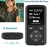 Chengstore Digitales DAB/FM-Radio mit Bluetooth-MP3-Player und Kopfhörer