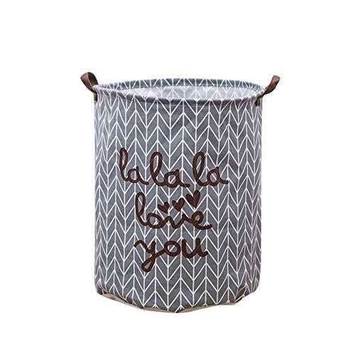Serria® Faltbare Wäschekorb Eimer leichte Ablagekorb Toy Organizer schmutzige Kleidung zusammenklappbar wasserdicht für Studentenheime Kinder