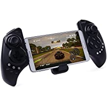 Recargable Multimedia Bluetooth Controlador con Soporte Telescópico para iPhone / Android Smartphone Tableta PC para iphone 6 5 5s 4 4s , Samsung galaxy note 2 3 4 S3 S4 S5 , Lg G3 G2 , HTC one m7 m8 , sony xperia Z Z1 Z2 Z3 compact , huawei