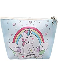 Monedero Monedero con diseño de Unicornio Bolso para niños de la Moda Monedero PU