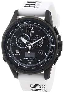 Hugo Boss - 1512802 - Montre Homme - Quartz Analogique - Cadran - Bracelet Silicone Blanc