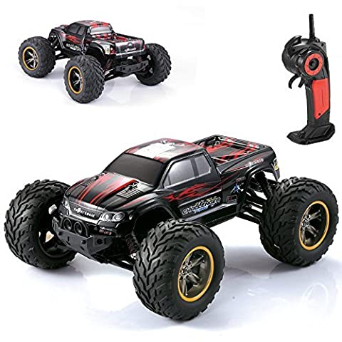 AMOSTING S911 35MPH 1/12 Scale 2.4GHz Remote Control Monster Truck - Red by AMOSTING