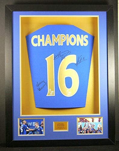 Leicester-City-Champions-16-Signed-Shirt-3D-Framed-Display-with-COA