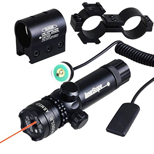 IRON JIA'S imperméable à l'eau d'ajustement Extérieur Rouge visée Laser Fusil Laser portée avec gratuits Dovetail Montage 8 Chiffre Monte ...