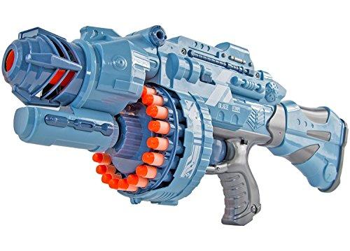 Elektrisches Pfeil-Gewehr Dart Waffe Strike Soft-Air Soft-Pfeile Blaster Pfeil Maschinen-Gewehr auto Grau