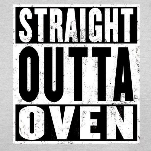 Straight Outta Oven - Herren T-Shirt - 13 Farben Hellgrau