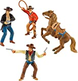 Bullyland Cowboys Set 4 Figurines