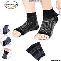 pedimendtm Plantarfasziitis Socken mit Arch & Knöchelbandage (4pair–8) | lindert Schwellungen & Fersensporn... preisvergleich bei billige-tabletten.eu