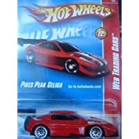 Hot Wheels Pikes Peak {Toyota} Celica, Red, Lace Wheels, White Twins Down Top-Side #12 2008 1/64 by Hot Wheels