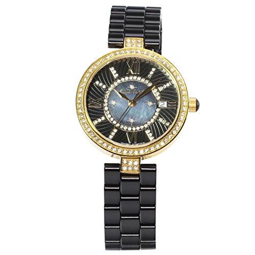 Stella Maris STM15SM6 - Orologio da polso analogico al Quarzo Donna - Cinturino Ceramica Premium Quadrante madreperla Diamanti e elementi Swarovski