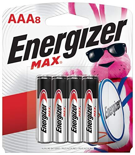 Energizer E92MP-8 E92MP-8 Batterie AAA-8, Schwarz, Stück: 1 - Aaa 8 Energizer
