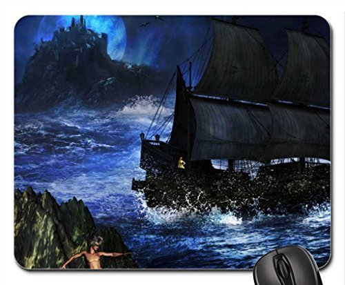 Night Storm Cruel Mouse Pad, Mousepad (Forces of Nature Mouse Pad)