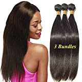 12  14  16  Extension Capelli Veri Tessitura Lisci Brasiliani Straight Human  Hair 100 c99ab09662ad