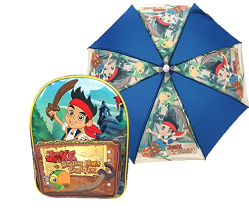 Jake and the Neverland Pirates Kinderrucksack, Mehrfarbig (Mehrfarbig) - JAKE001009AMAZON