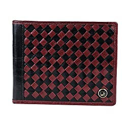Da Milano MW-0002M Maroon Leather Men Wallet