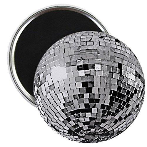 (CafePress glänzend Disco Spiegel Kugel Magnet–Standard mehrfarbig)