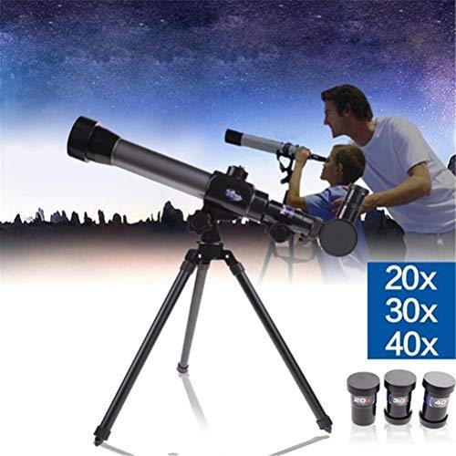 Laduup Astronomical Telescope Spielzeug mit Stativ für Beobachtung von Mond und Sterne/Natur Wissenschaft Spielzeug für Kinder