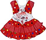 Retaaz Baby-Girls' Frock (Rkgf17A, Multi-Coloured, 3-6 Months)