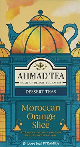 Ahmad Tea Moroccan Orange Slice Dessert Tea - 15 Pyramid Teabags