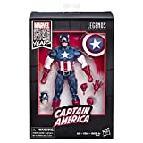 Marvel Legends Classic Captain America, Marvel 80esimo Anniversario, Multicolore, E6347E48