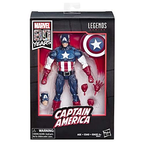 Marvel Legends - 80 aniversario Capitán America (Alex Ross) (Hasbro E6347E48)