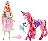 Barbie DJR59 Puppe und Einhorn