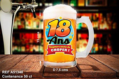 CHOPE DE BIÈRE 18 ANS