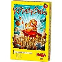 Haba-303661-Kippelknig-Geschicklichkeitsspiel-fr-Kinder-mit-einfachen-Regeln-fr-schnellen-Spielspa-Familien-Spiel-mit-umfangreichem-Spielmaterial-aus-Holz-Spiel-ab-4-Jahren