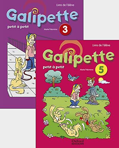 Pack: Galipette Petit À Petit 5 Primaria