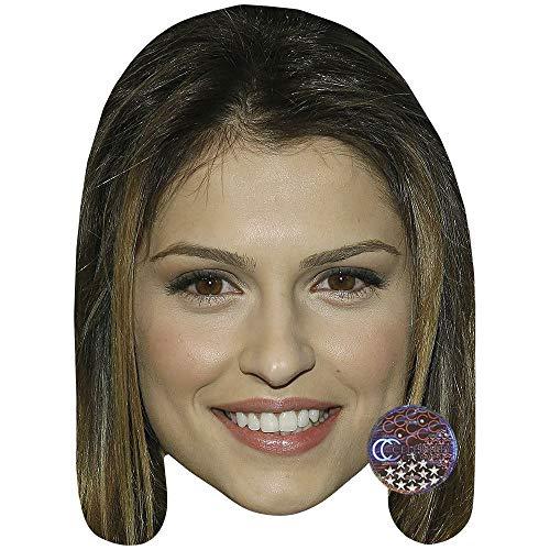 Celebrity Cutouts Raquel Alessi Maske aus Karton