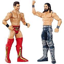 WWE Seth Rollins vs The Miz, Playset 2 Personaggi, 15 cm, GDC05