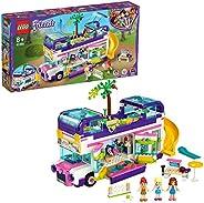Lego 41395 Friends Friendship Leksaksbus med Pool och Rutschkana, Flerfärgad Från 8 År, 778 Delar