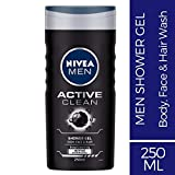Best Gel For Men - Nivea Active Clean Shower Gel For Men, 250ml Review