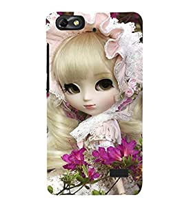 PrintVisa Designer Back Case Cover for Huawei Honor 4C (amazing playing refresh lady girl)