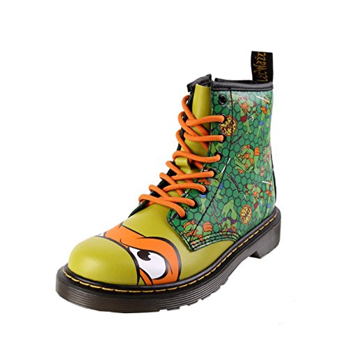 Dr. Martens Mikey T Lamper Boot Green Orange ()