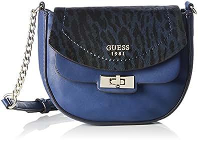 Bleu Sacs Guess Femme Bandoulière Kingsley Crossbody Petite Flap AwwxqP0OI