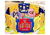 Ibaby Large Child Playpen With Soft Comfortable Playmat
