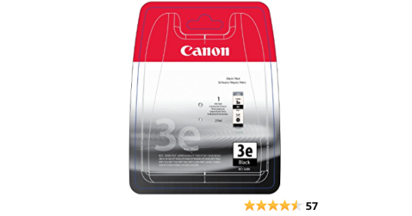 Canon 4479a297 Bci 3ebk Tintenpatrone Schwarz Blister With Security Bürobedarf Schreibwaren