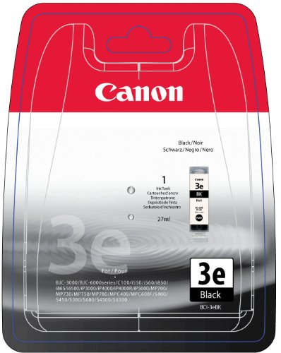 Canon 4479A297 BCI-3EBK Tintenpatrone schwarz Blister with security - Canon Bci-3 Inkjet-patrone